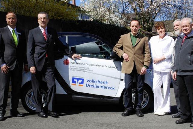 Volksbank spendet Auto