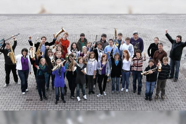 Junge Musiker tun sich zusammen