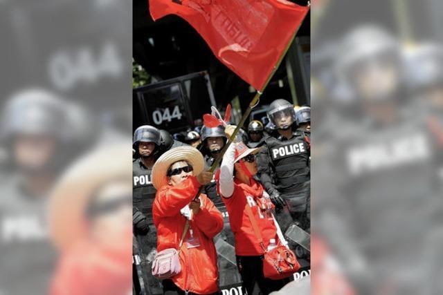 Die Opposition in Thailand gibt nicht nach