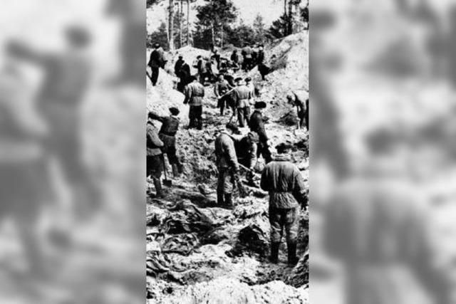 Russland und Polen gedenken der Toten von Katyn