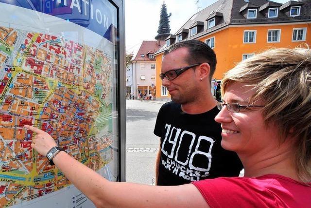 Tourist-Card ist in Freiburg auf dem Weg