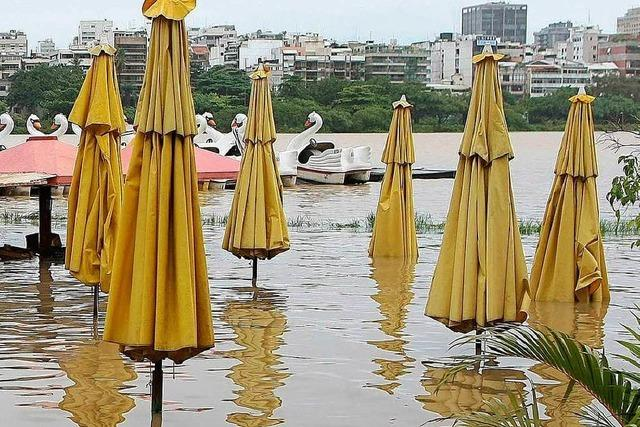 Viele Tote nach heftigen Regenfällen in Rio