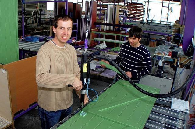 Fensterläden aus Alu als Job-Motor