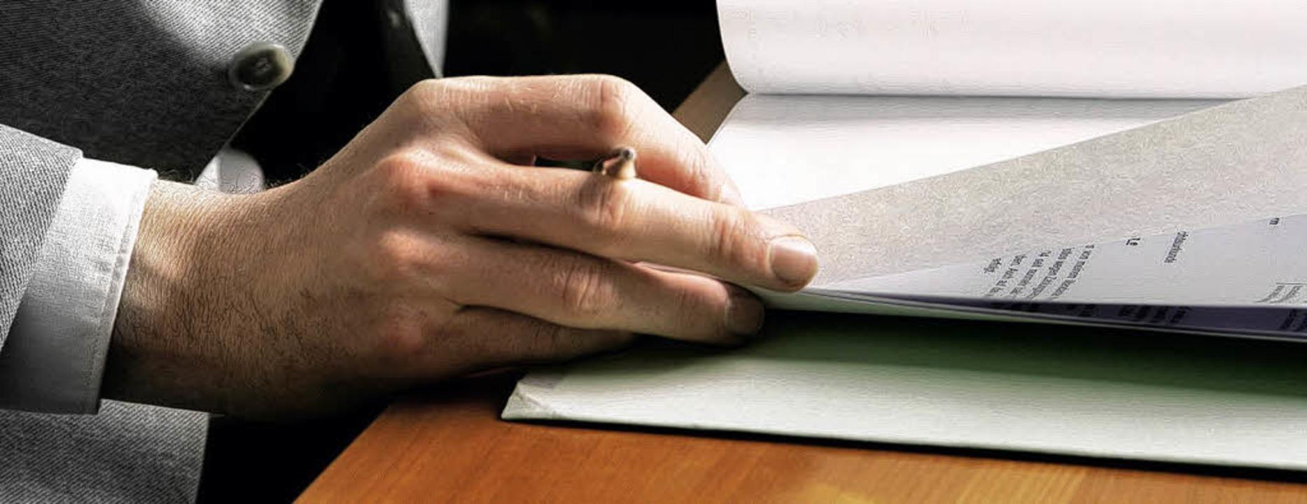Hauen Versicherungsvertreter andere üb... Umfrage nach dieser Ansicht zu sein.   | Foto: fotolia.com/IsoK