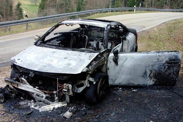 Bremse löst Feuer aus