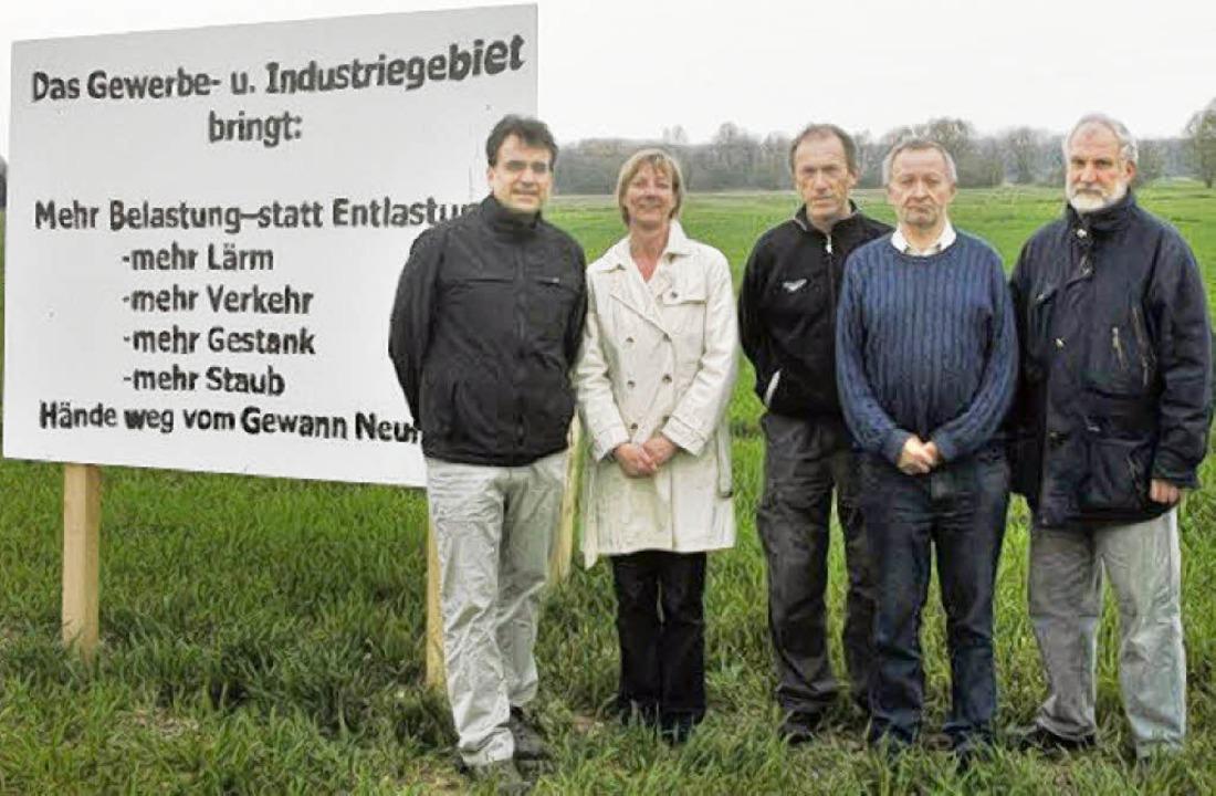Hubert Heidiri (links) und weitere Ver...d Grünen-Gemeinderat Adalbert Faller.   | Foto: privat