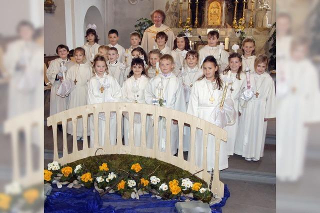 Erstkommunion in Stühlingen