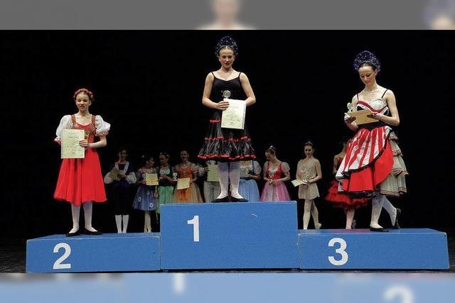 Tänzerinnen qualifizieren sich