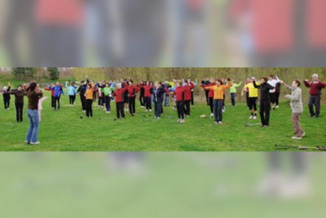 Beim Lauftreff geht's nicht um Tempo – Hauptsache man bewegt sich