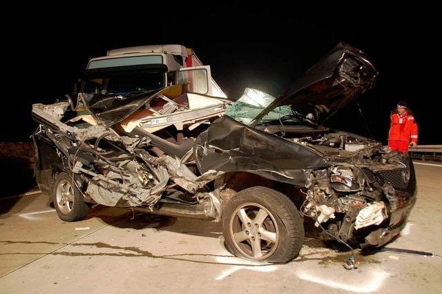 Deutlich weniger Unfälle