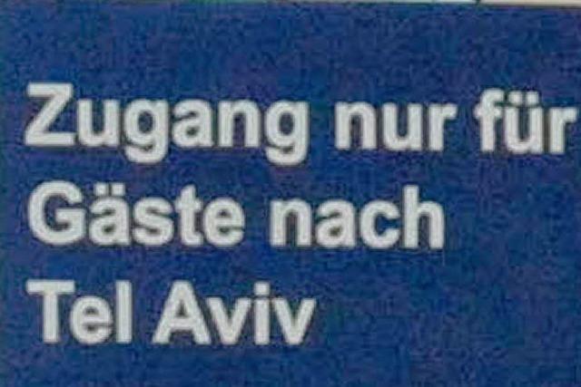 Gut gelandet in Tel Aviv