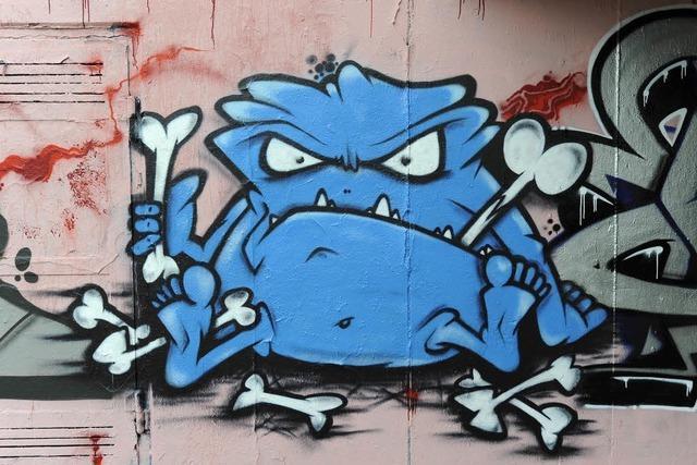 Graffiti: Mehr als 200 Millionen Euro Schaden