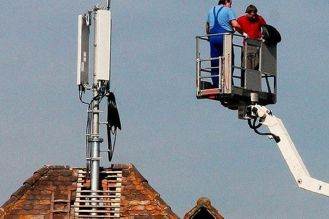 Bürger kämpfen gegen Mobilfunk-Sendeanlage in Burkheim
