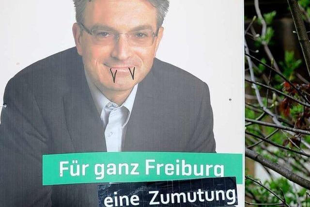 WiM-Aktivistin soll Salomon-Plakate beschädigt haben