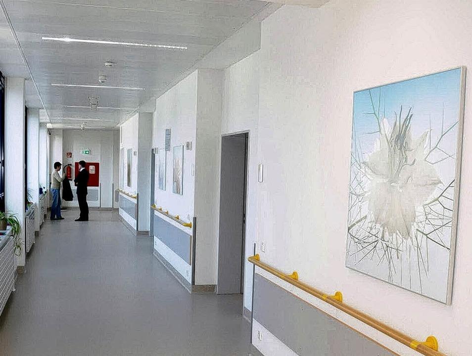 Hell und freundlich wurde  die neue Er...er Kreiskliniken GmbH (unten, links).   | Foto: Robert Bergmann