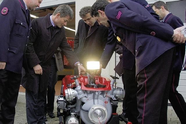 Neue Pumpe für die Feuerwehr