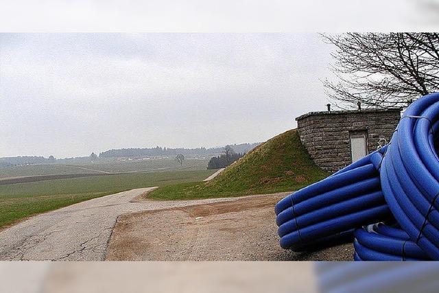 Bau der Wasserleitungen sorgt für Ärger