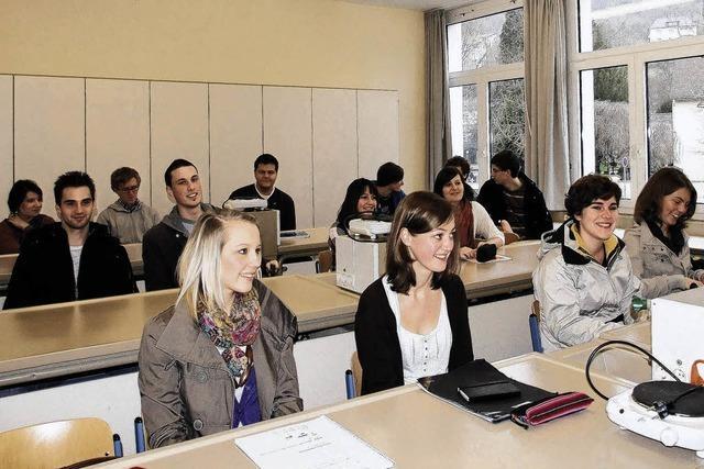 413 Schüler im Abi-Stress