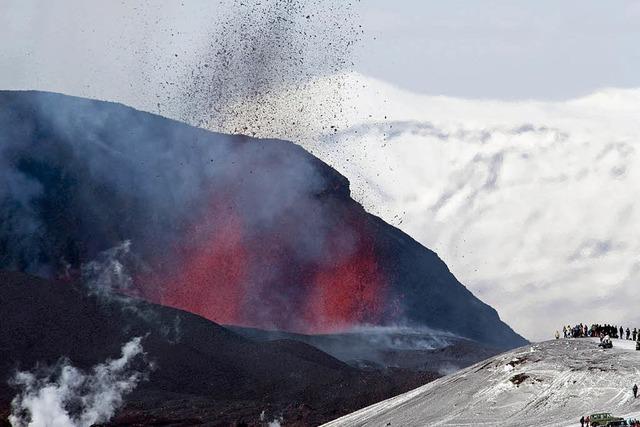 Island: Vulkanausbruch könnte zu einer Gletscherschmelze führen