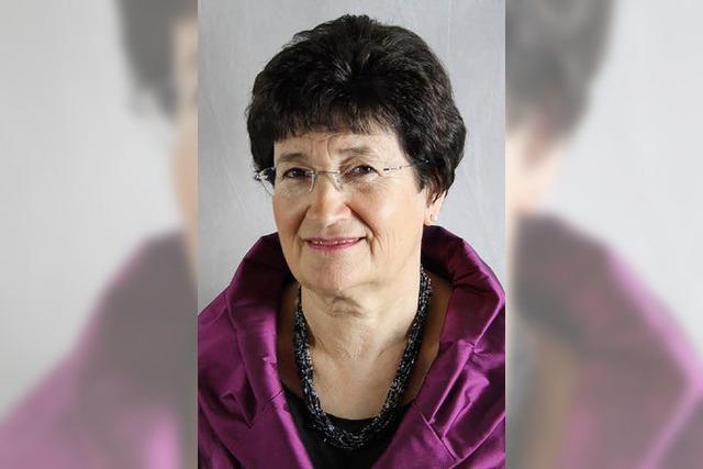 Andrea Heger ist die neue Ratsvorsitzende