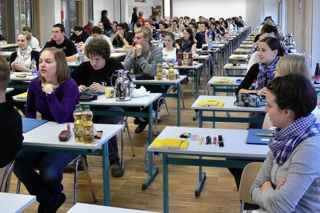 Abitur 2010 gestartet