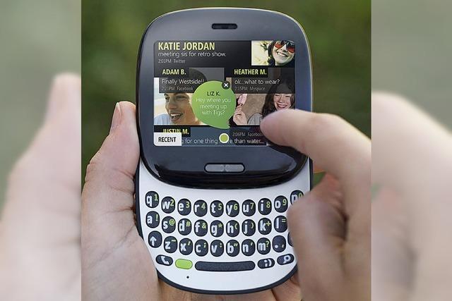 Neue Handys setzen auf Social Media