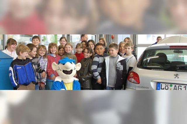 Wie viele Kinder passen in einen Peugeot?