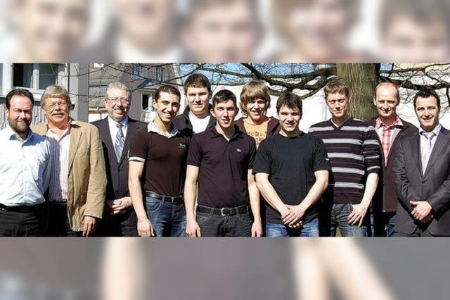 Die Schluchseewerk AG übernimmt acht Lehrlinge