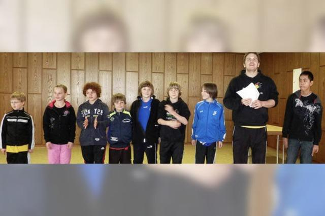 Blaue Gruppe gewann den Fairness-Preis