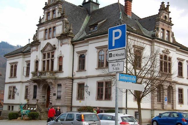 Korrektur der Parkregelung