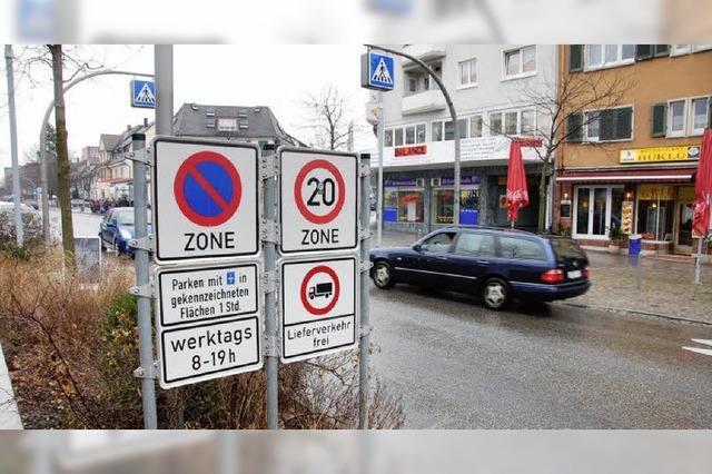 Fußgängerzone light als neue Lösung