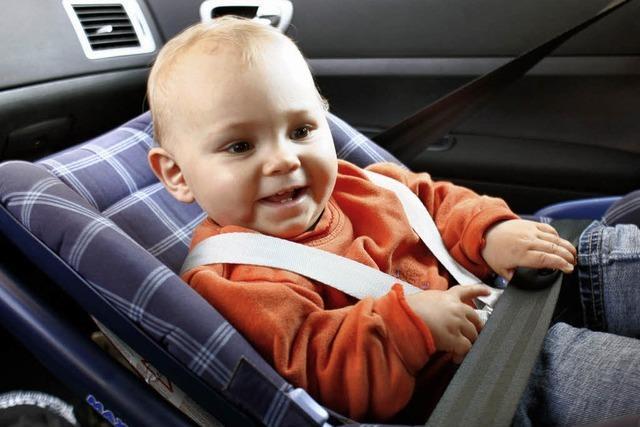 Sicherheit durch Sitz und Gurt