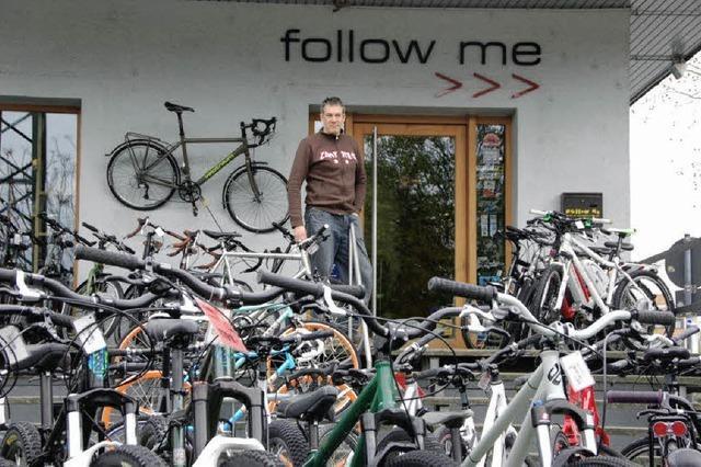 Fahrradstation in der Warteschleife