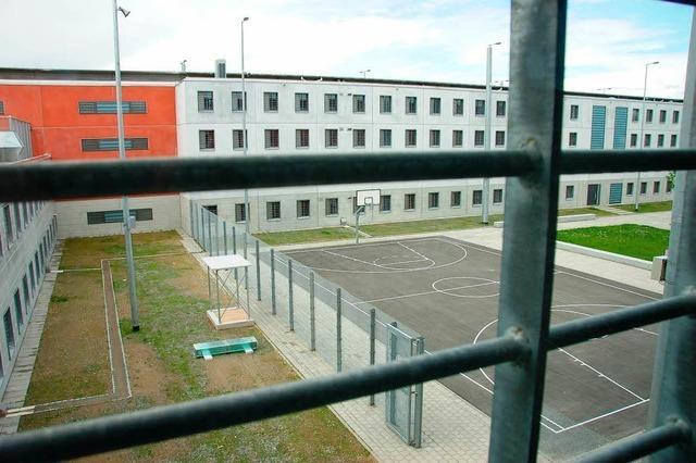 Kriminalpolizei durchsucht das Offenburger Gefängnis