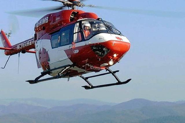 Bergwacht rettet 70-jährige Touristin am Belchen