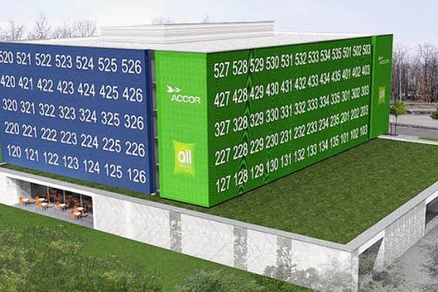 Der Bauantrag fürs Hotel am EAP ist gestellt