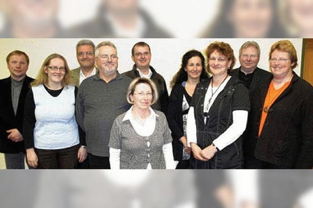 Pfarrgemeinderat nimmt Arbeit auf