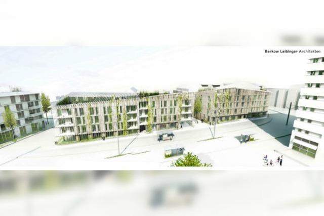 Berliner Architekten gestalten neuen Eingang für Vauban