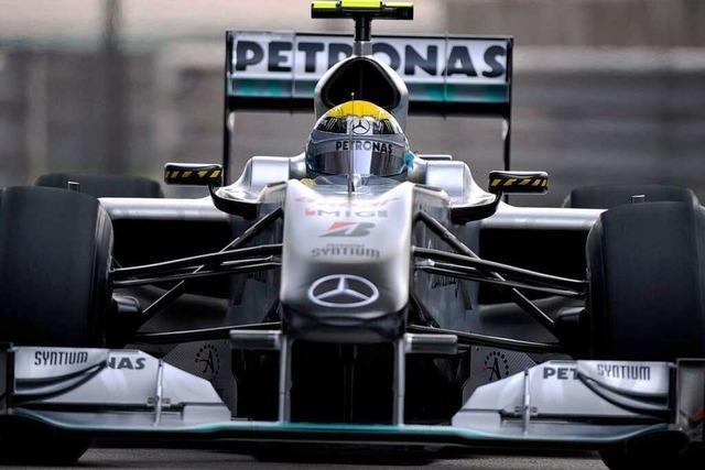 Formel1: Mercedes mit
