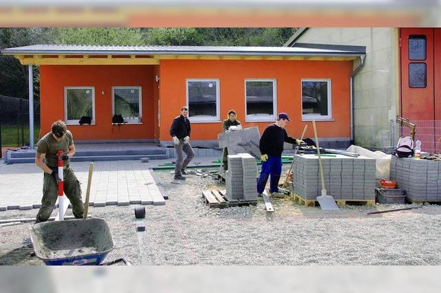Gemeindehaus ist fast fertig