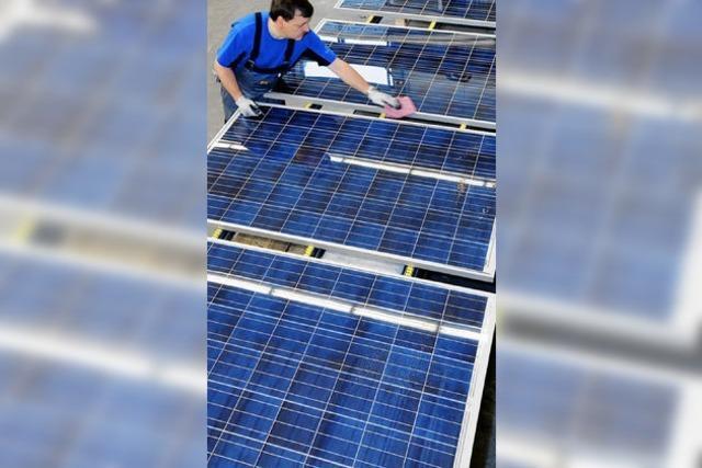Ärger um die Nutzung der Sonnenenergie