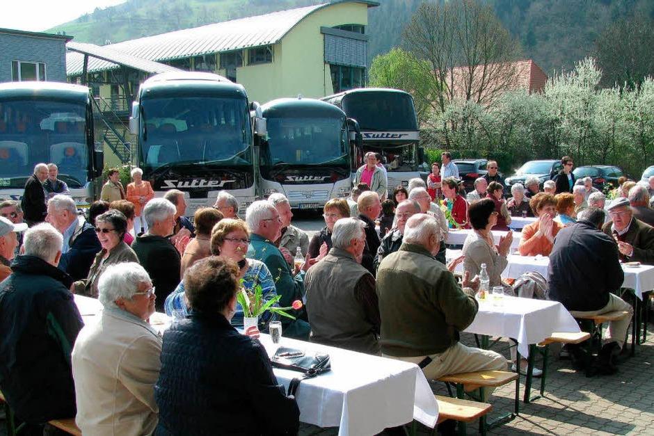 Die Gewerbeschau in Münstertal bot den Besuchern viel Abwechslung. (Foto: Manfred Lange)