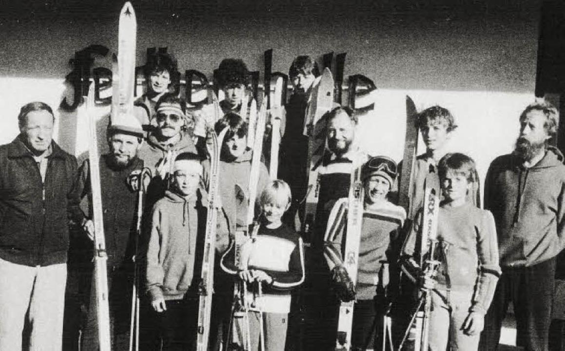 Die Sportabteilung des Heimatvereins F... Jan-Kristof Imberi und Timo Steiert.     Foto: Archiv Heimatverein