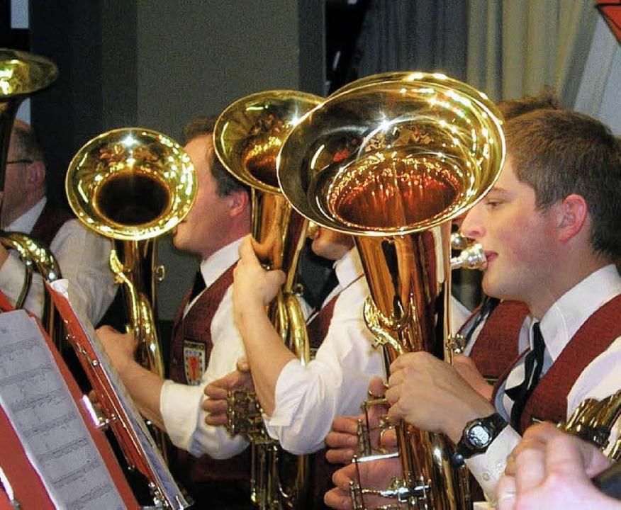 Überzeugend war der Auftritt des Musik...ach  beim Doppelkonzert in Eisenbach.   | Foto: GERT BRICHTA