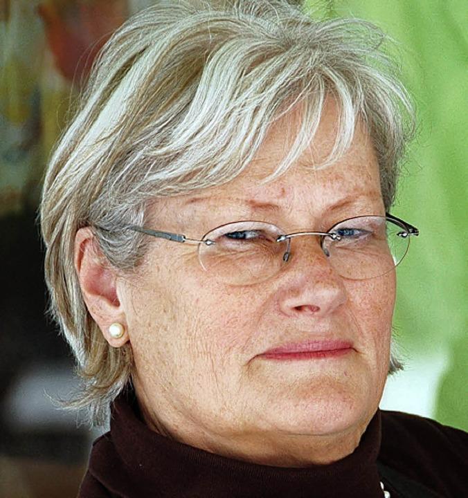 Gudrun Hublot, 63, Krankenpflegerin au...euge in diesen Tagen verschont bleibt.    Foto: Richard Ihle