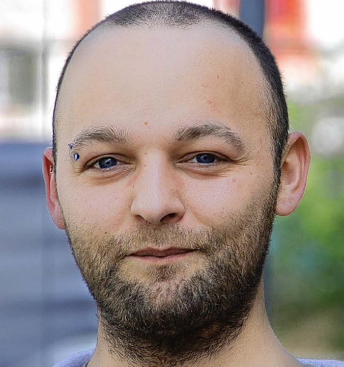 Roland Gräßlin, 30, Lagerist aus Müllh...in Flugverbot definitiv sehr sinnvoll.    Foto: Richard Ihle