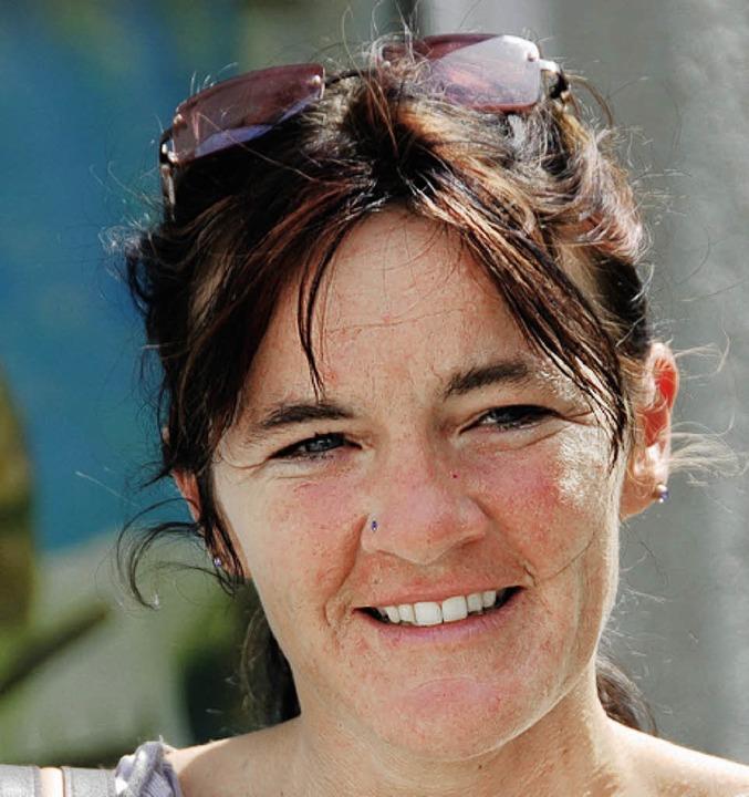 <BZ-Keyword>Tanja Eisen,33, Serviceang...e nicht in den Urlaub fliegen konnten.    Foto: Richard Ihle