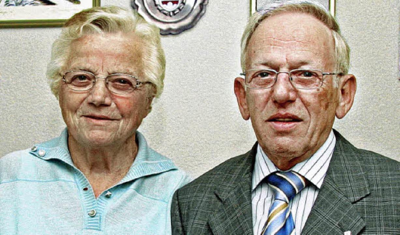 Anna und Gerhard Gut feierten  ihre goldene Hochzeit.    Foto: herbert trogus