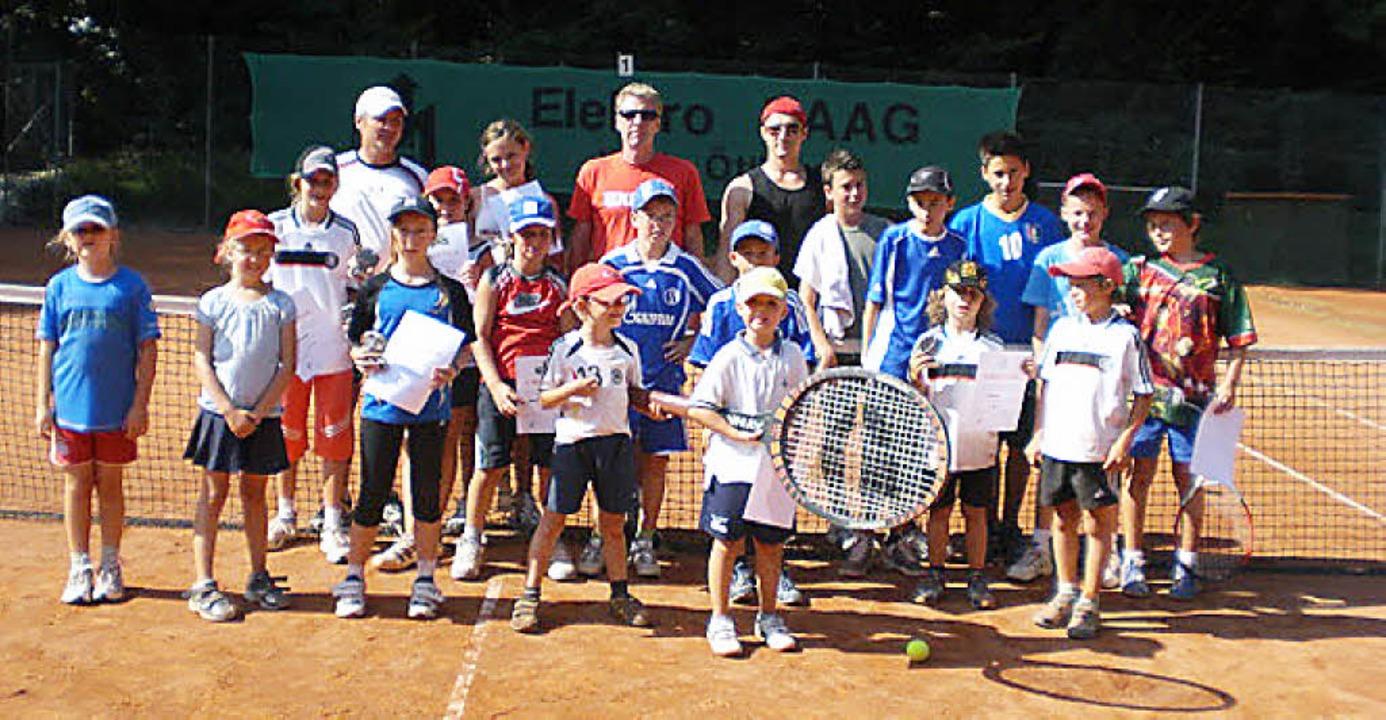 Auch in der Saison 2010 bietet der TC ...iscamp für Kinder und Jugendliche an.   | Foto: PRIVAT