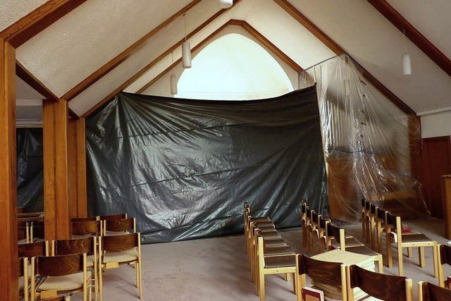 Kirche wird renoviert